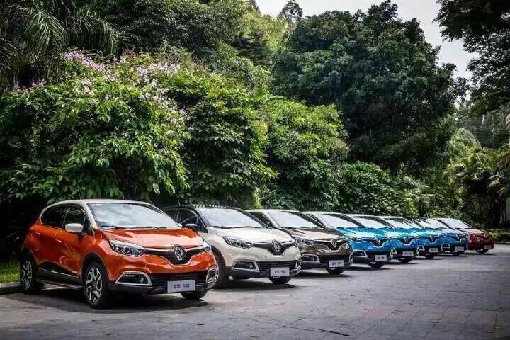Renault Captur Media Test Drive